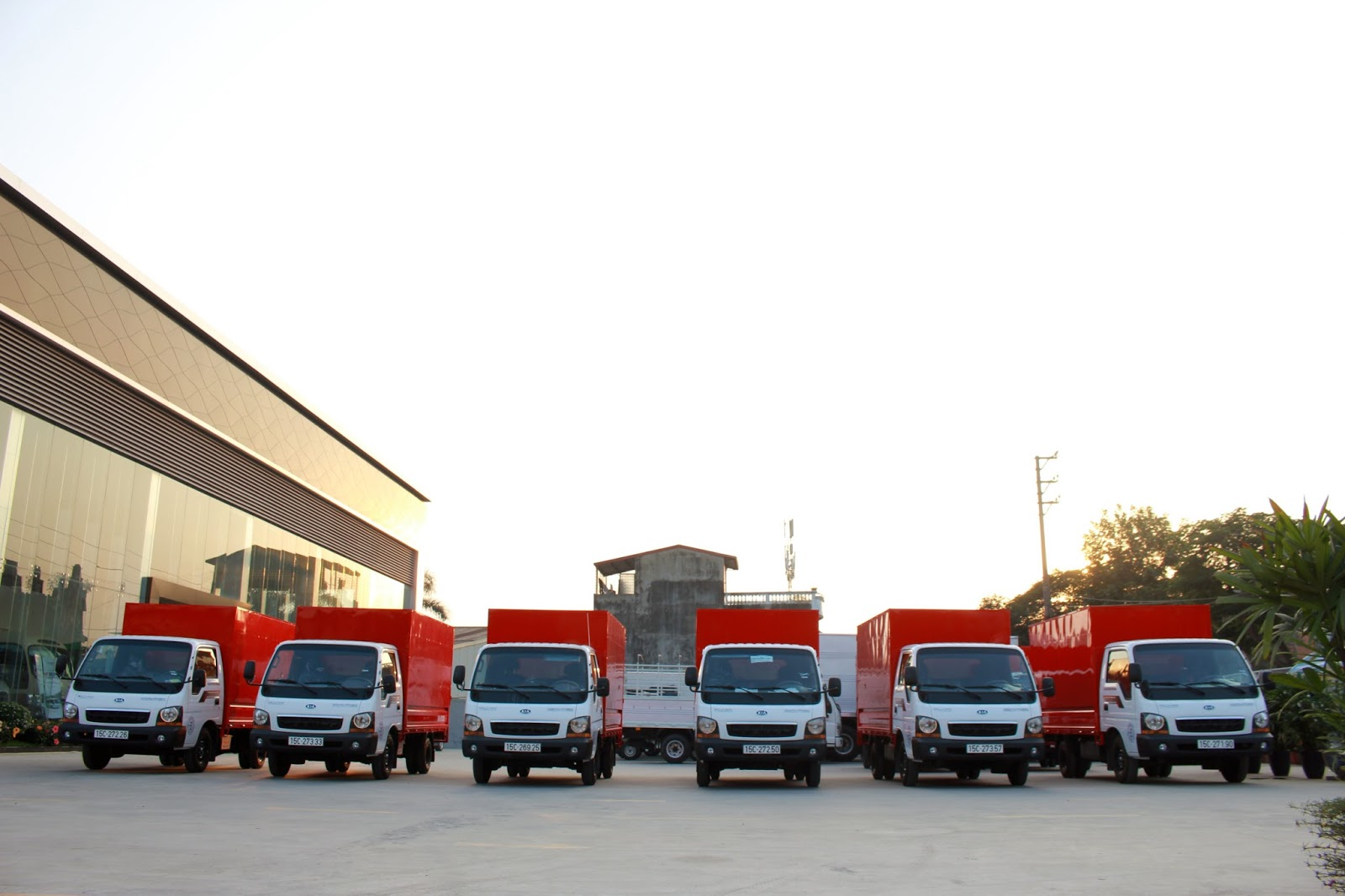 Dịch vụ taxi tải có đầy đủ các loại xe với trọng tải khác nhau
