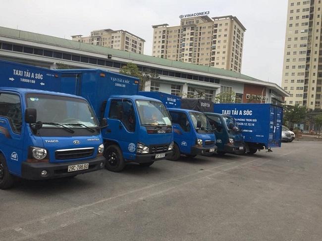 A Sóc cung cấp dịch vụ cho thuê xe tải tự lái và có lái