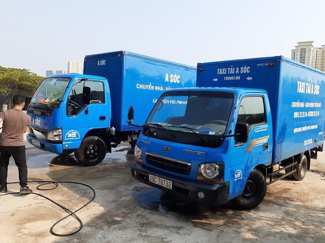 Xe tải A Sóc luôn được bảo trì, bảo dưỡng thường xuyên đảm báo an toàn trên mọi lẻo đường