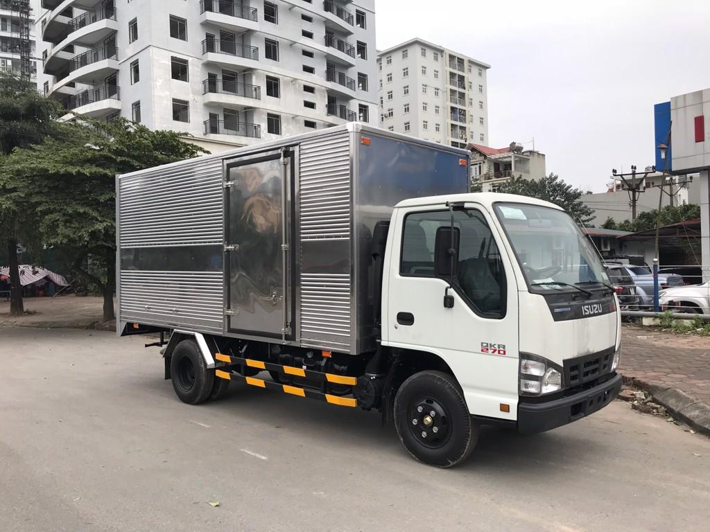 Kích thước xe tải 1,5 tấn