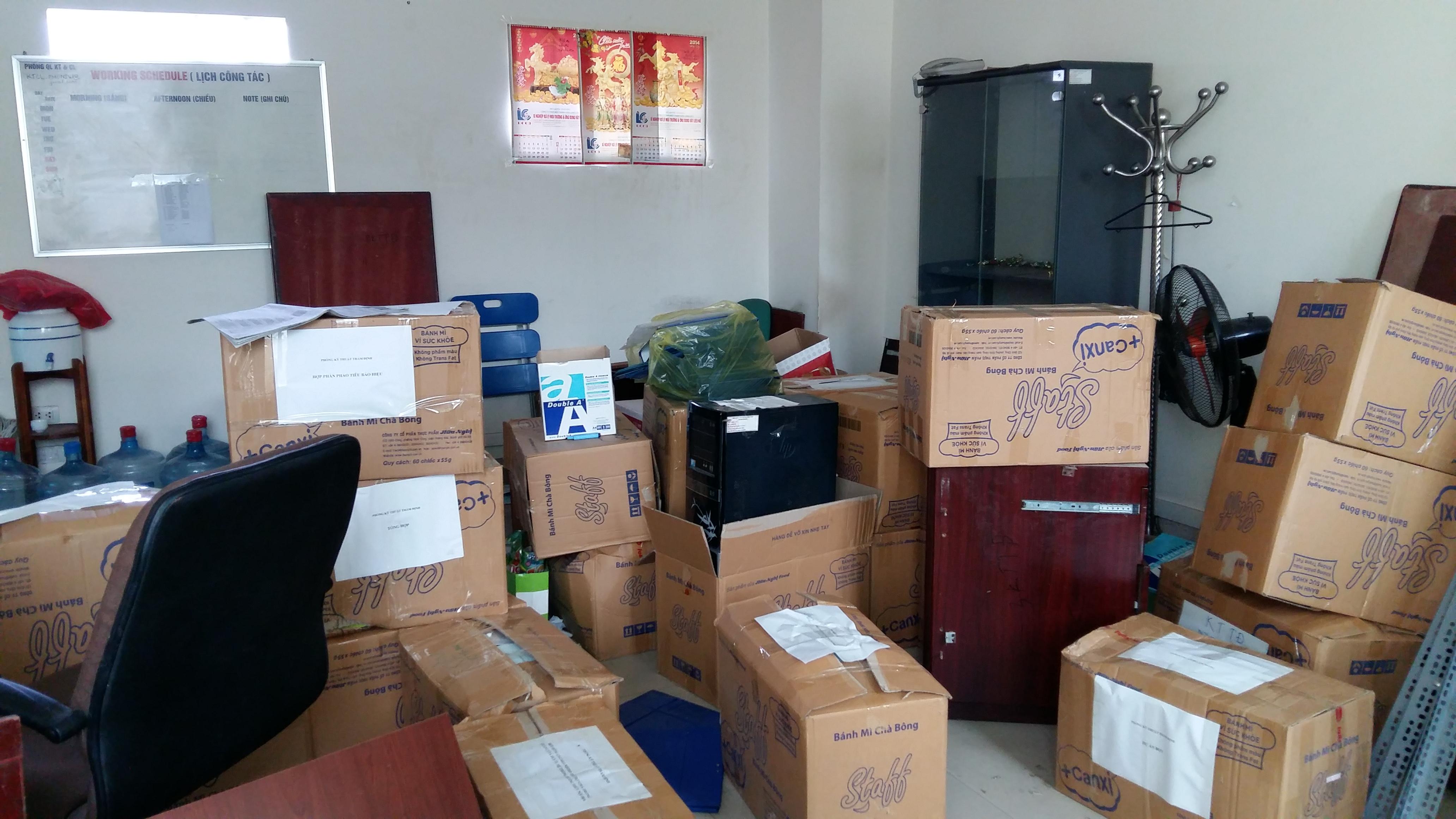 Lựa chọn các thùng carton lớn để đựng đồ điện tử