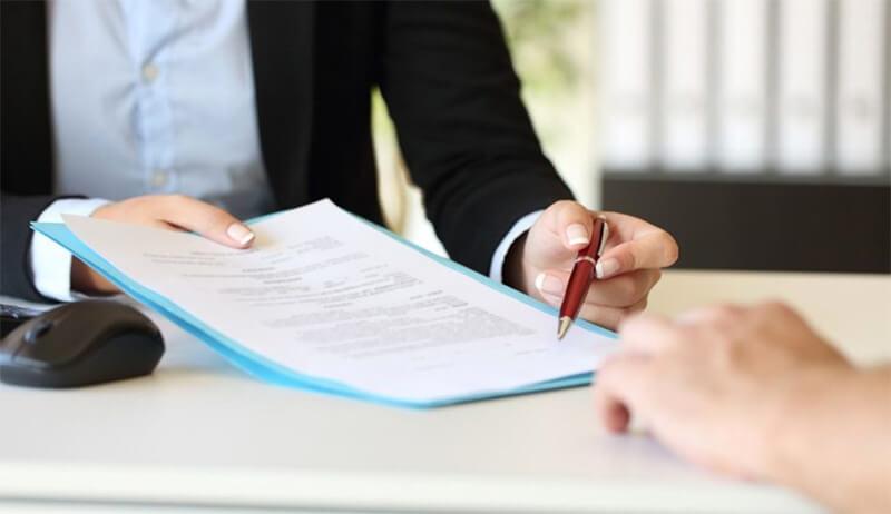 Hợp đồng thể hiện sự uy tín của đơn vị cho thuê