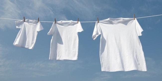 Phơi quần áo ở nơi thoáng khí