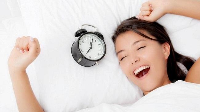 Ngủ đủ giấc để phục hồi chức năng của cơ thể