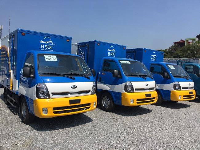 Vận tải bằng xe tải vừa nhanh chóng vừa đảm bảo an toàn hàng hóa
