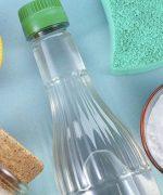 Tẩy vết dầu nhớt bằng baking soda, oxy già