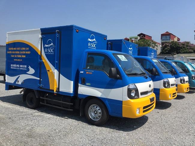 Xác định số lượng hàng hóa mà mình cần chuyển là bao nhiêu để lựa chọn xe tải có tải trọng phù hợp