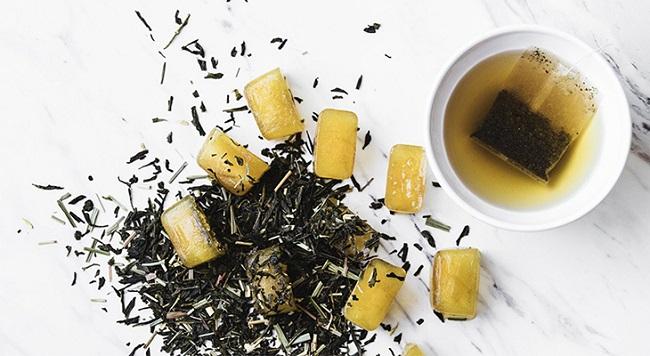 Đá viên trà xanh mật ong trị thâm ngăn mụn hiệu quả