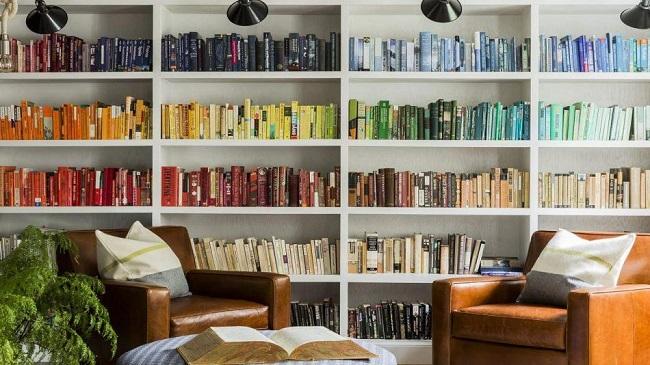 Gợi ý trang trí ngôi nhà bằng sách báo cũ