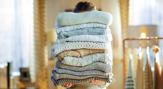 Không cho những loại vải mềm mỏng như len vào máy sấy