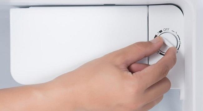 Tùy thuộc lượng thức ăn mà điều chỉnh nhiệt độ tủ lạnh hợp lý