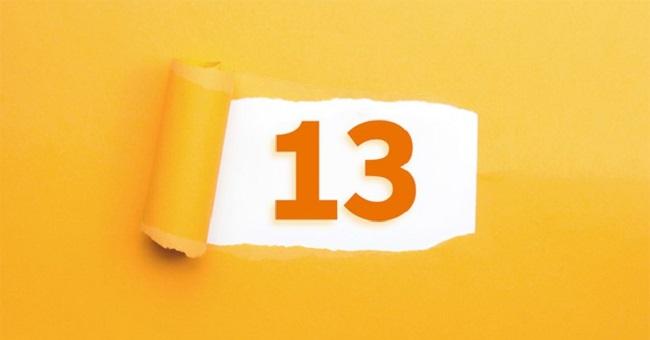 Ý nghĩa con số 13 khi kết hợp với các con số khác