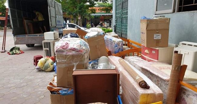 Đóng gói và bọc lót trước khi chuyển nhà tại Sài Gòn