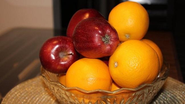Táo và cam giúp cải thiện vấn đề về tim mạch