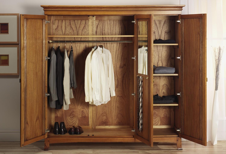 Hướng dẫn cách tháo lắp tủ quần áo khi chuyển nhà