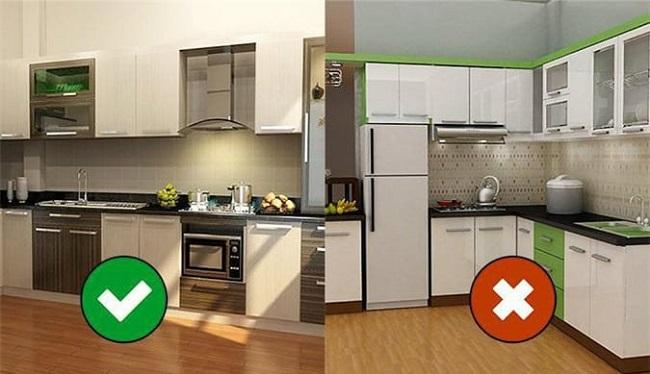 Nhà bếp là một vị trí phong thủy quan trọng trong gia căn.
