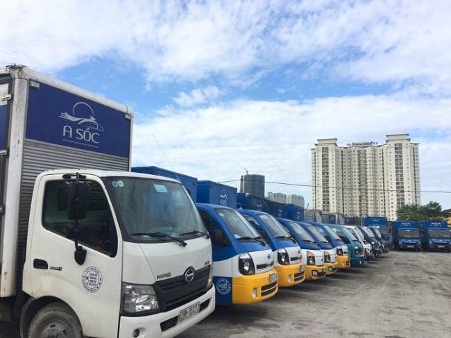 Hơn 600 xe tải với nhiều trọng tải từ 1.25 tấn, 1.4 tấn, 2.5 tấn,.. phục vụ tối đa nhu cầu vận chuyển